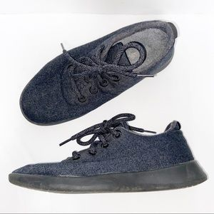 Allbirds Natural Black Wool Runners Size 8